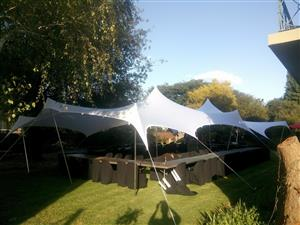 Waterproof stretch tents sell