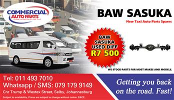 Used Diff For BAW Sasuka For Sale.