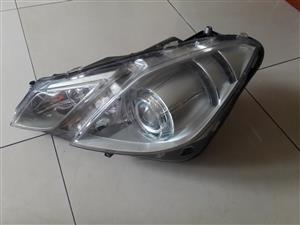 Mercedes headlamp