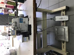 Kingtex industrial overlocker ( Africa Sewing Machines )