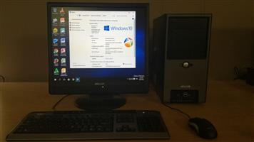 DESKTOP COMPUTER WITH 19 INCH LCD