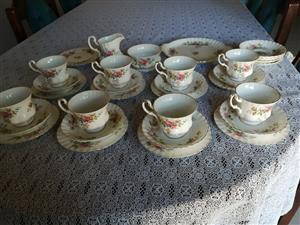 Mint Condition Royal Albert Moss Rose Teaset for sale  Fochville
