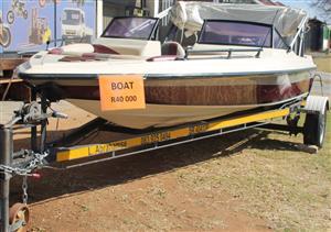 Carribbean speed boat #Rosettenvillepawnshop