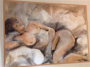 Fiona Ewan Rowett pastel painting