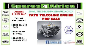 TATA TELCOLINE ENGINE FOR SALE