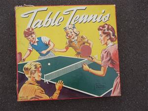 Vintage Palitoy Table Tennis Game Complete in Original Box