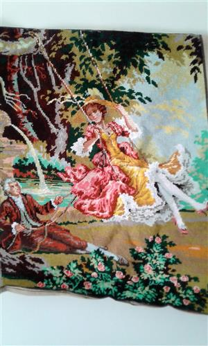 Selection of Classical Handcrafted Silk and Wool Tapestries for Sale