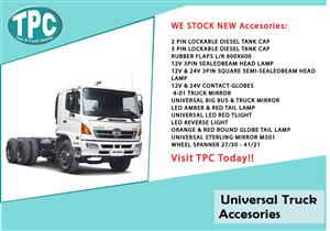 Universal Truck Accessories For Sale. at TPC.