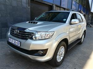 2014 Toyota Fortuner 3.0D 4D 4x4 Limited auto