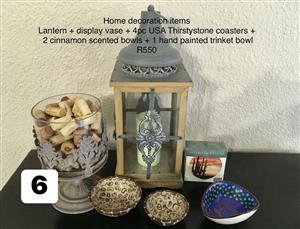 Home decoration items