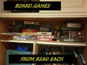 board games for sale  Muldersdrift