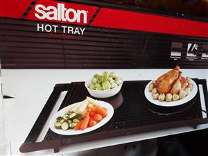 Salton Hot Tray and Goldair Heater both for sale.
