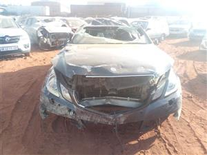 CURRENTLY STRIPPING 2012 Mercedes benz E350