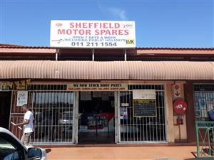 SPARES SHOP FOR SALE