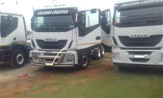 Iveco Traker truck for sell