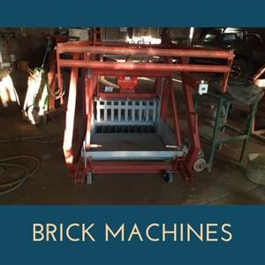 Brick machines @ stock ,maxi & block bricks