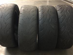 Dunlop semi slicks