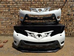 Toyota Rav4 Prefacelift Front Bumper