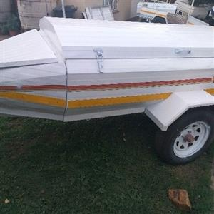 venter 6foot trailer with nose cone