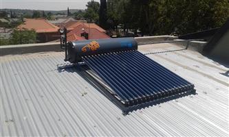 Solar Geysers Installations