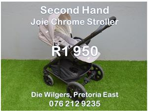 Second Hand Joie Chrome Stroller