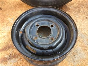 "Rim 10"" 4 hole - Trailer spare wheel for luggage trailer (Venter etc.)."