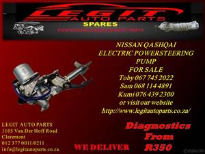 NISSAN QASHQAI ELECTRIC POWER STEERING PUMP FOR SALE