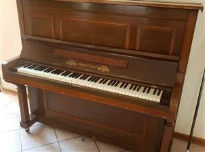 August Dassel Upright Piano 1920's