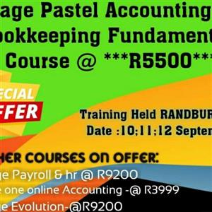 SAGE PASTEL ACCOUNTING V19 COURSE 10.11.12 Sept