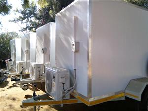 Newly Built In stock Mobile Freezer & Toilet Trailer