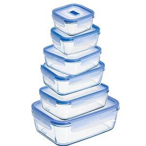 12 Piece Glass Storage Container