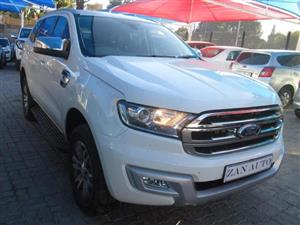 2016 Ford Everest EVEREST 3.2 XLT 4X4 A/T