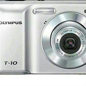 olympus T-10 Digital camera 10 megapixel