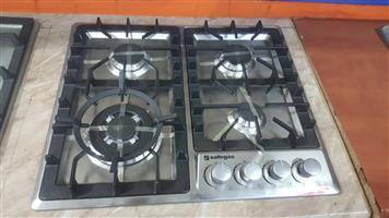 Safegas 4 plate gas hob promo price