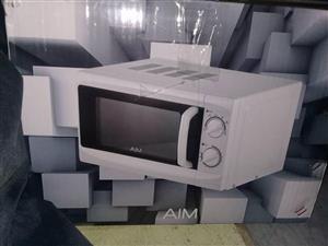 Aim microwave white