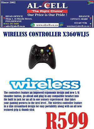 Wireless Controller X360WLJS