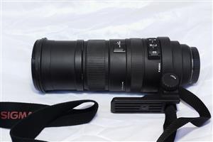 Sigma 150-500mm F5-6.3 APO DG HSM lens (good as New)