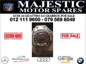 Audi A6 2.6 quattro gearbox for sale