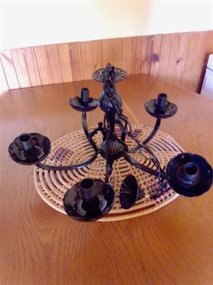Black candle holder for sale