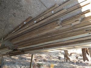 Oregon floor planks