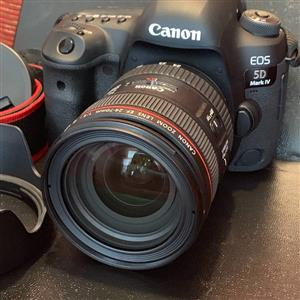 Preowned Mark Iv 5d Canon with 24-70mm lens