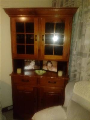 WELSH DRESSER IN SOLID RHODESIAN TEAK