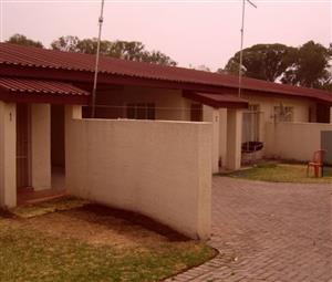 One bedroom townhouse for sale in Vredefort