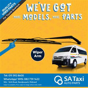 Wiper Arm suitable for Toyota Quantum - SA Taxi Auto Parts quality used spares
