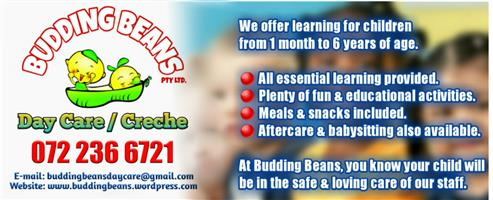 Daycare, Aftercare and Babysitting in Castleview, Germiston