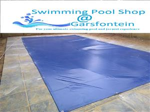 PVC swimming pool covers, save WATER!