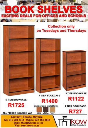 Book Shelves For Schools and Offices!