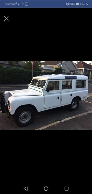 1972 Land Rover Defender 110
