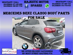 Mercedes benz cla 200 stripping for spares used parts for sale