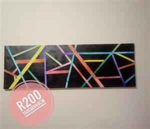 Abstrakte canvas te koop